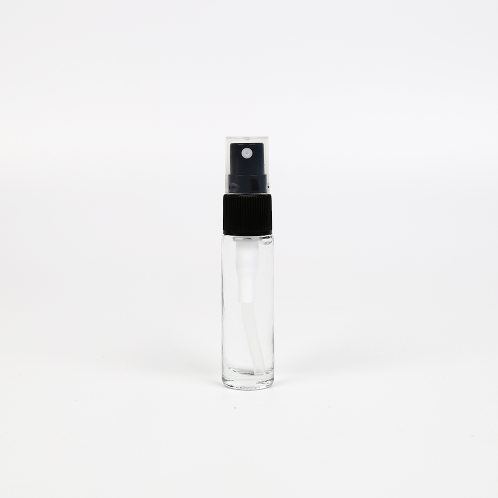 LanJing Small Fine Mist Glass Spray Bottles For Essential Oils Empty Amber Glass Spray Bottle